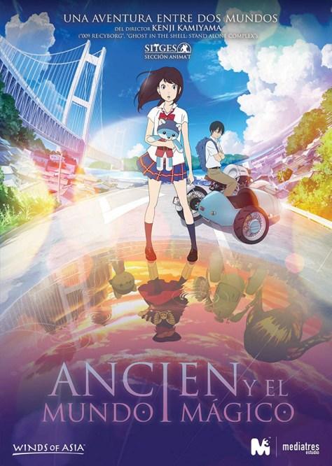 Ancien y el mundo mágico - poster
