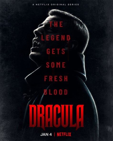Cartel de la miniserie Drácula, de Netflix