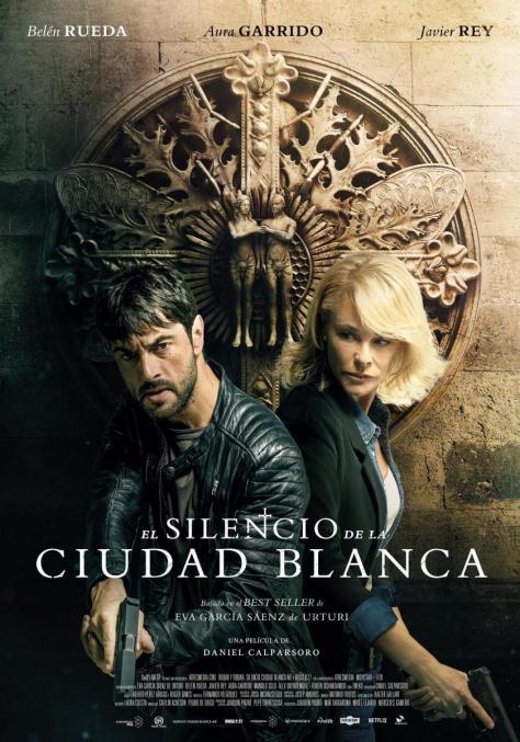 Cartel de la película El silencio de la ciudad blanca
