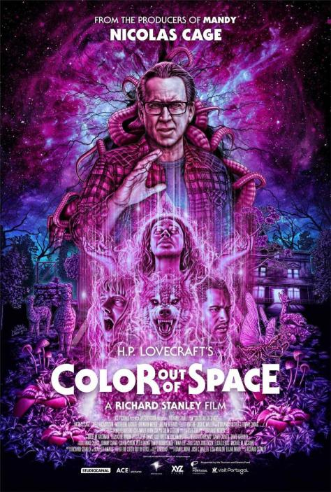 Cartel de la película Color out of space, de 2019