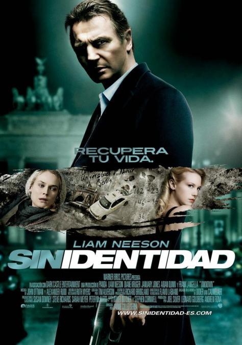 Cartel de la película Sin identidad, de 2011