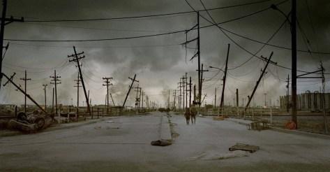 Fotograma de la película La carretera, de 2009