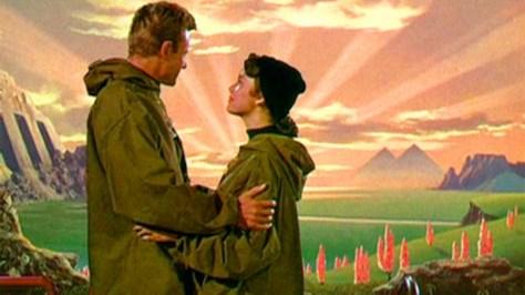 Fotograma de la película Cuando los mundos chocan, de 1951