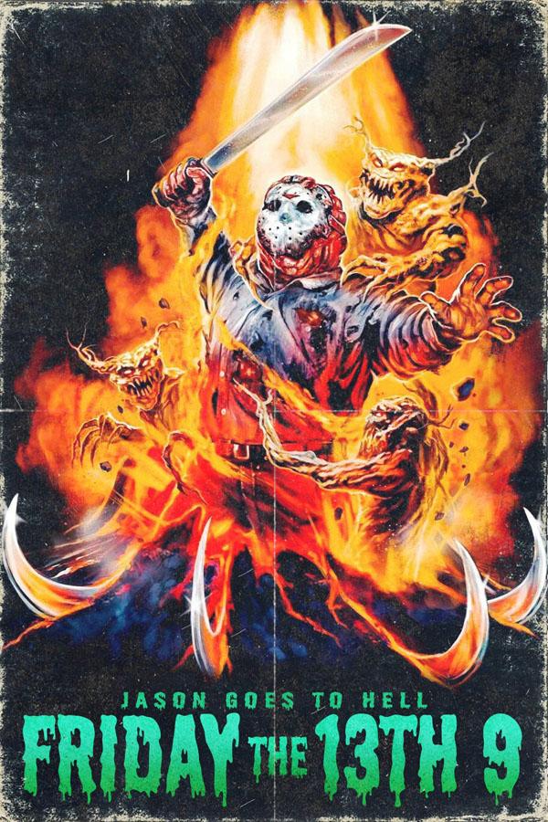 Viernes 13: Jason se va al Infierno - poster