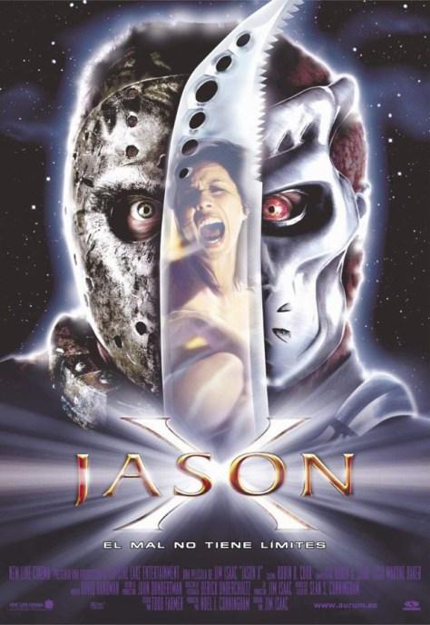 Jason X - poster