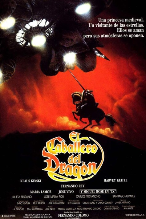 El Caballero del Dragón - poster