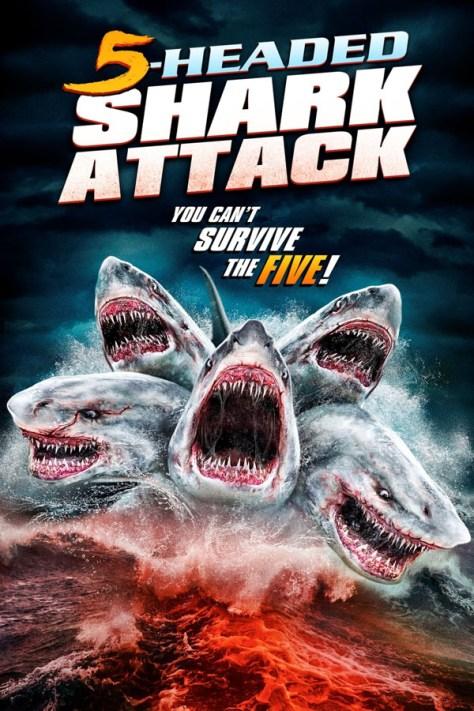 El Ataque del Tiburón de Cinco Cabezas - poster