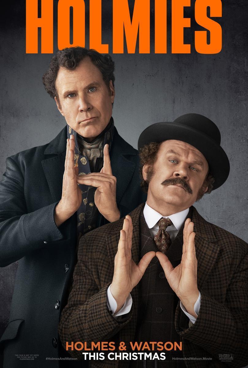 Cartel de la película Holmes y Watson, de 2018