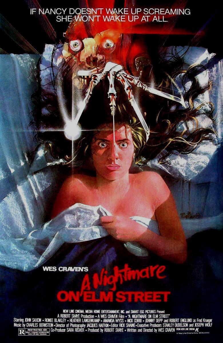 Cartel de Pesadilla en Elm Street, de 1984