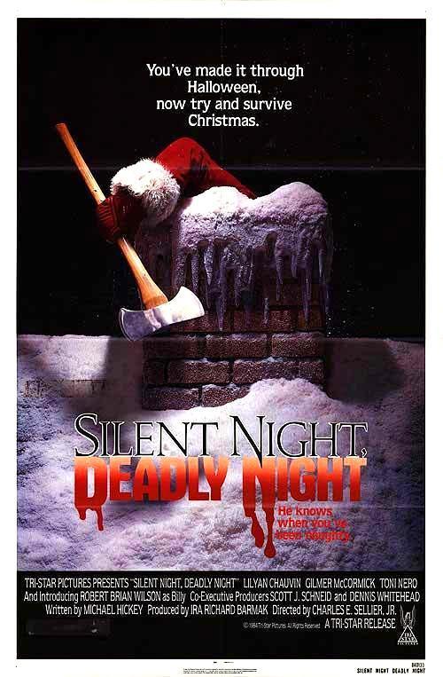 Cartel de Noche de paz, noche de muerte, película de 1984