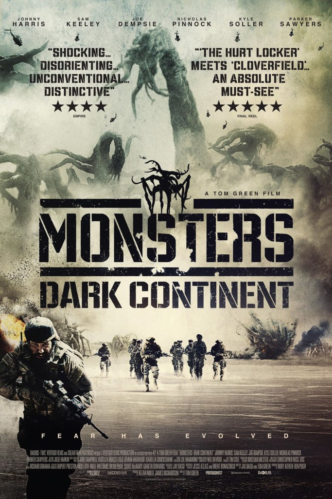 Monsters: El Continente Oscuro - poster