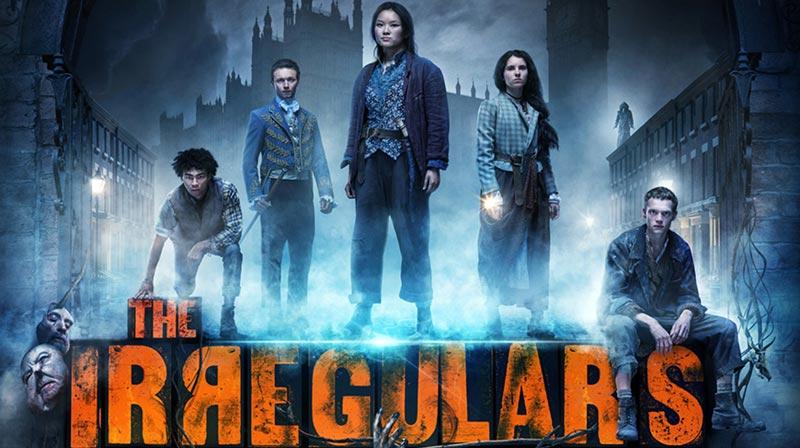 Imagen promocional de la serie Los Irregulares