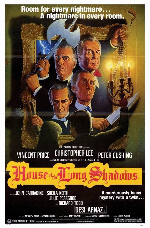Cartel de La casa de las sombras del pasado