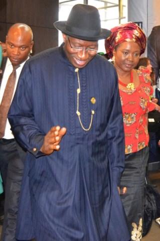 Nigerian President Goodluck Jonathan. Photo: Nokuthula Manyathi