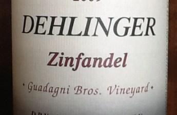 2009 Dehlinger Zinfandel