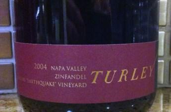 2004 Turley Moore Earthquake Zinfandel