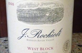 2000 Rochioli West Block Pinot Noir