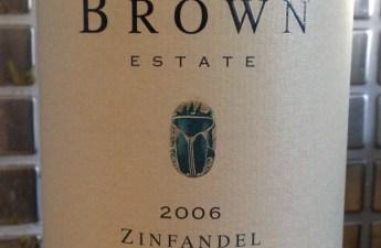 2006 Brown Estate Napa Valley Zinfadel