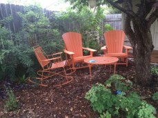 Adirondack set for two nestled into the Parmer Lane area!