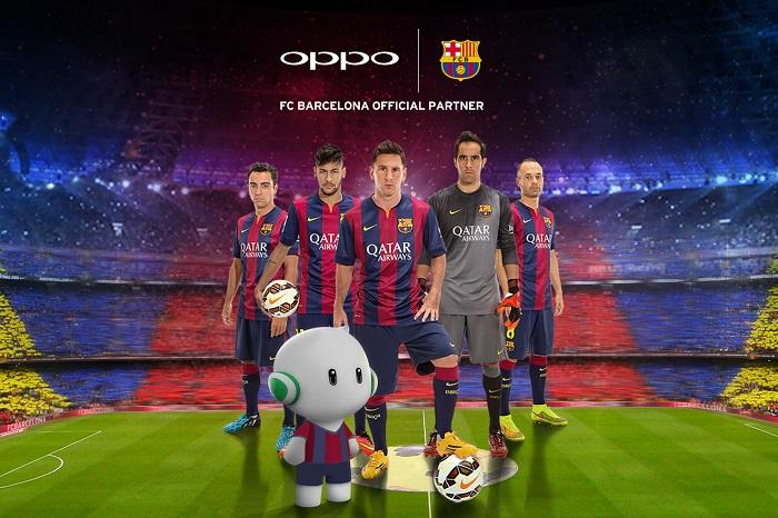 OPPO x FC Barcelona