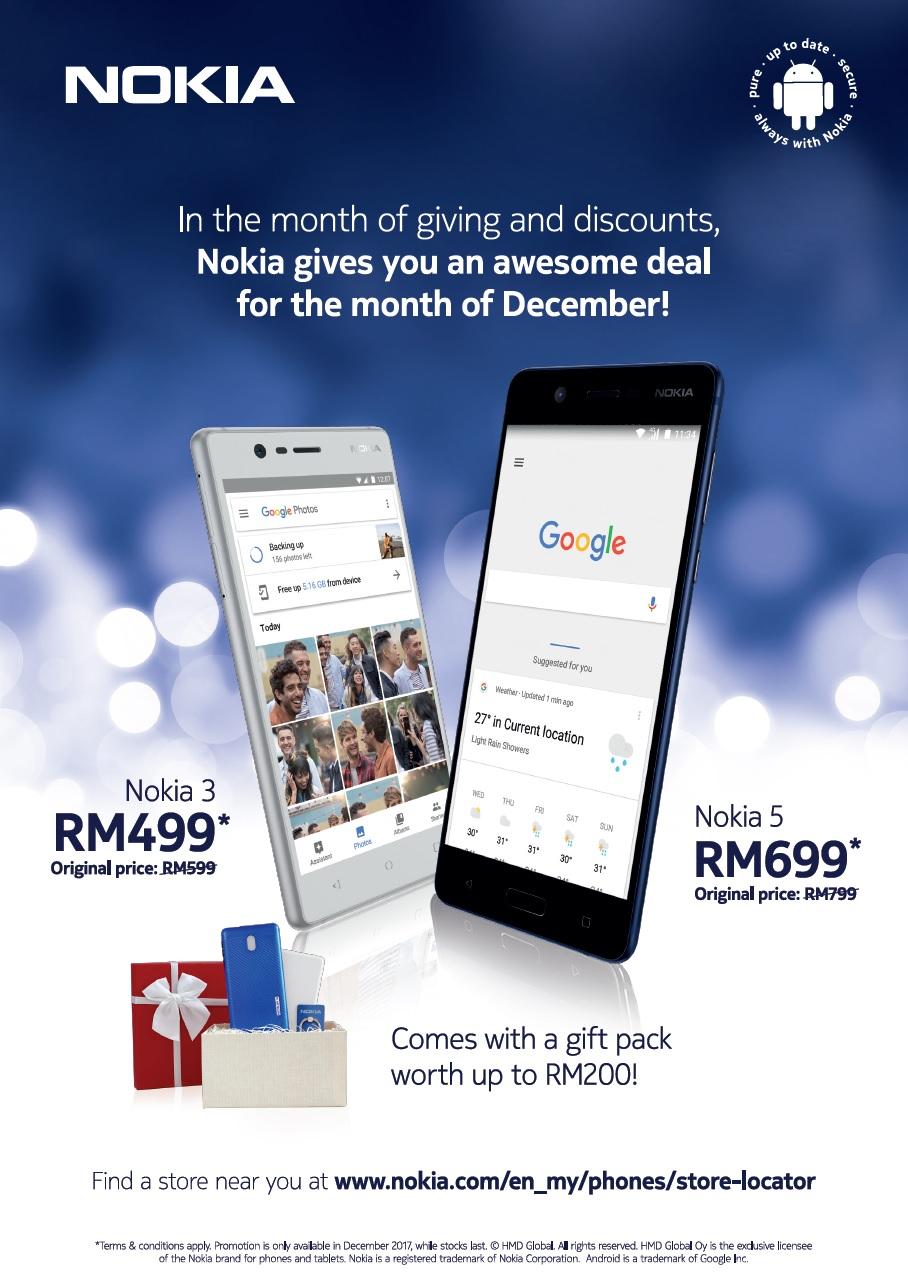 Nokia Awesome Deal Dec 2017