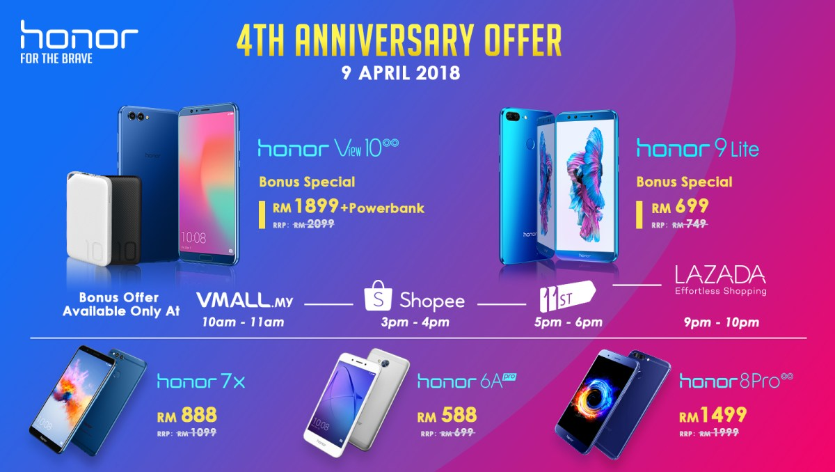 honor_4 Anniversary Offer