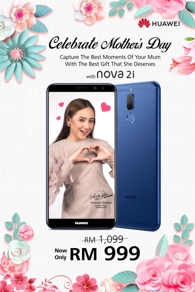 Celebrate Mother's Day with nova 2i