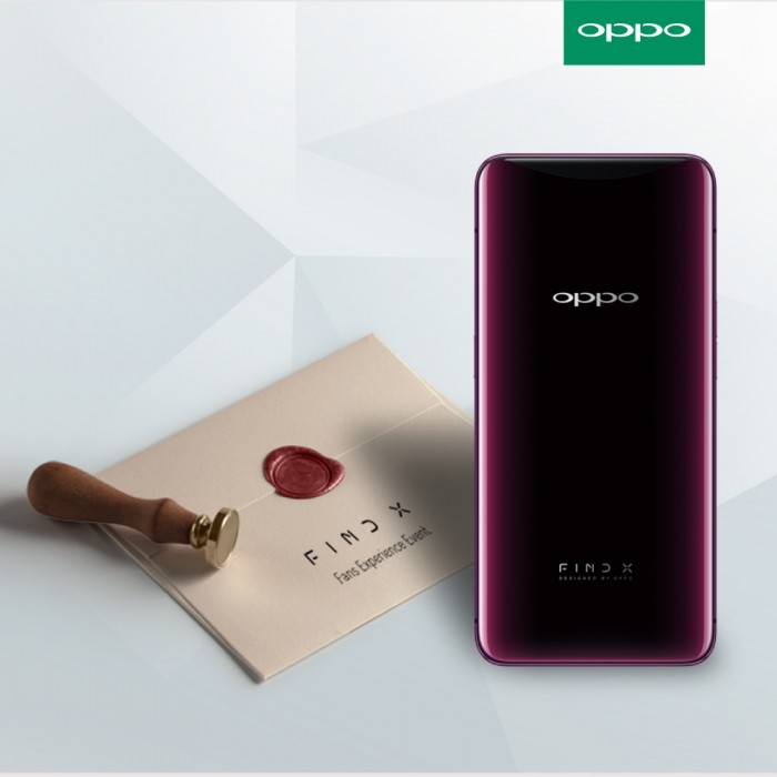 [Image]OPPO Find X Fan Experience Event