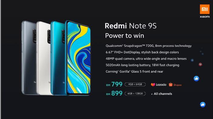 Redmi Note 9S大马发布:骁龙720G、5020mAh电池、18W快充,售RM799起,限时优惠价售RM699! 30-2.jpg?resize=703%