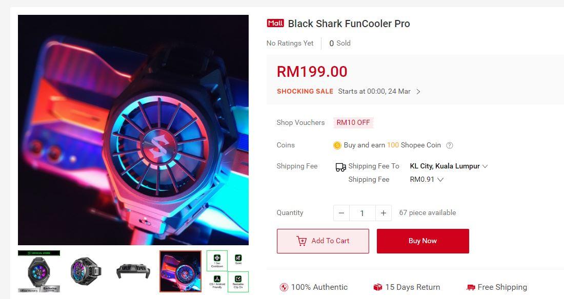 黑鲨散热背夹Pro3月24日大马开卖:可降14°C、iOS及Android手机用户可使用,售RM199! shopee.jpg?resize=11
