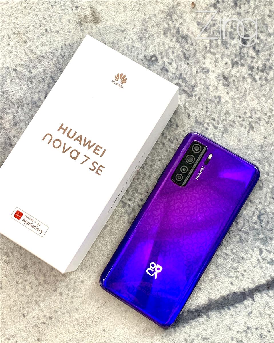 华为 nova 7 SE手机评测✡