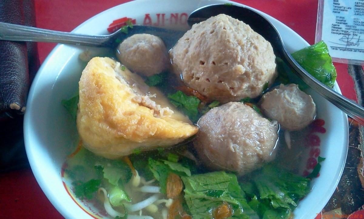 Nikmatnya Bakso Ower Lampung