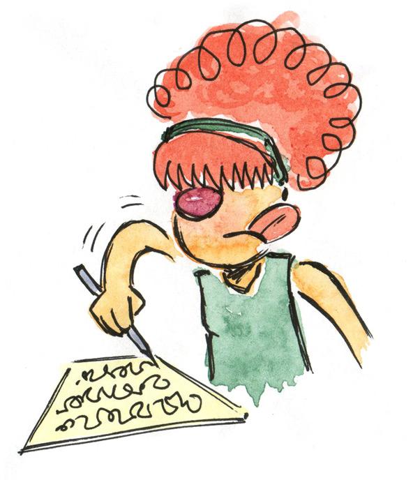 Zinggia Ohio Art Scholarship sloppy handwriting