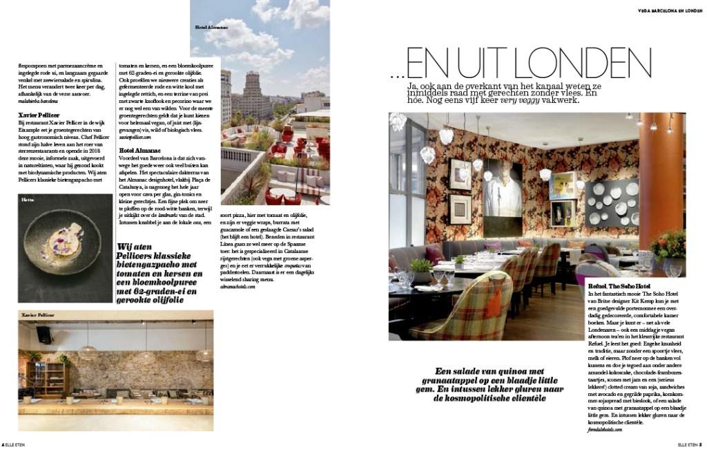 Groentjes uit Barcelona & Londen Article pg 3