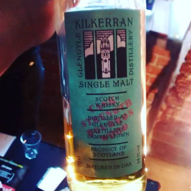 Kilkerran bourbon wood