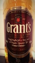 Wielki test blended whisky - cz. 1 - Grants