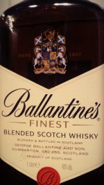 Wielki test blended whisky - cz. 1 - Ballantines