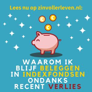 Waarom ik blijf beleggen in indexfondsen ondanks recent verlies zinvollerleven.nl
