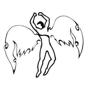 Zio Apollo Logo, single-line handdrawn by Xiaochun Li