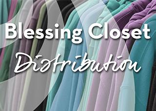 Blessing Closet Distribution