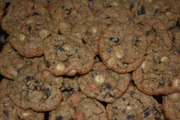 Loaded Oatmeal Raisin Cookies