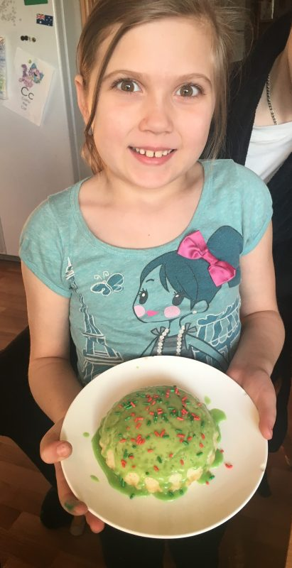 Hungry in the Kitchen – Her First Experiment
