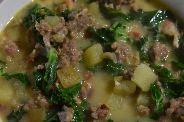 Zuppa Toscana Finished