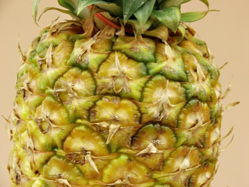 Conventional Pineapple Is Fine - Organic Food Need Not Apply