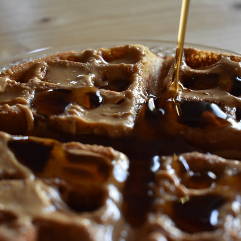 Homemade Whole Wheat Waffles – Perfected