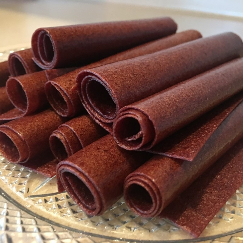 Perfectly Simple Organic Fruit Roll Ups