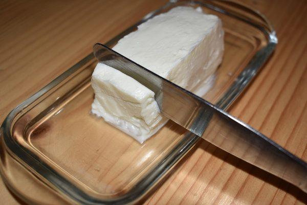 goat milk butter stick of