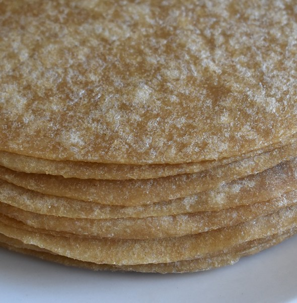 Whole Wheat Tortillas – Perfected… AND Organic, too!