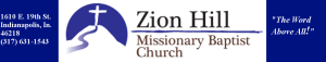 Zion Hill Missionary Baptist Church