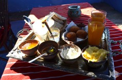 #Moroccan #breakfast by our Riad in #Chefchaouen